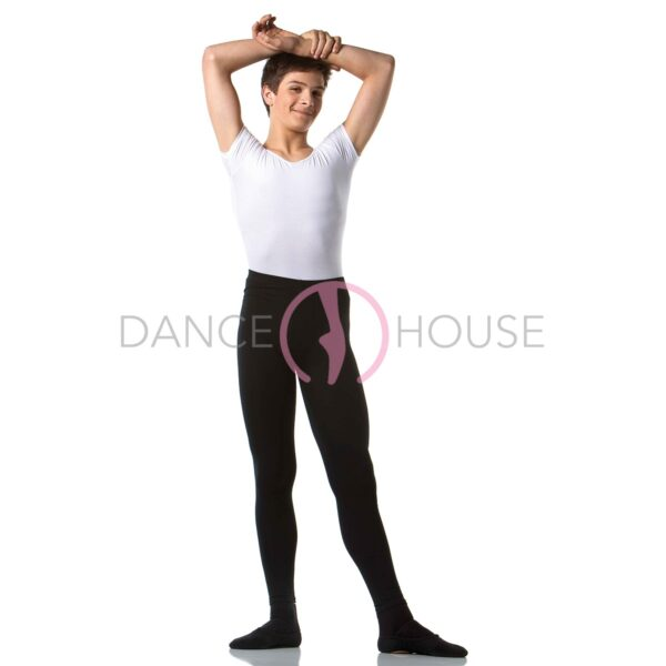 Pantacollant con piede uomo cotone Dance House