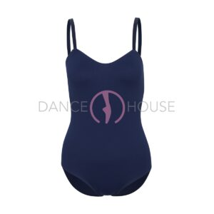 Body Jane blu navy con spallina in elastico Rad Examination