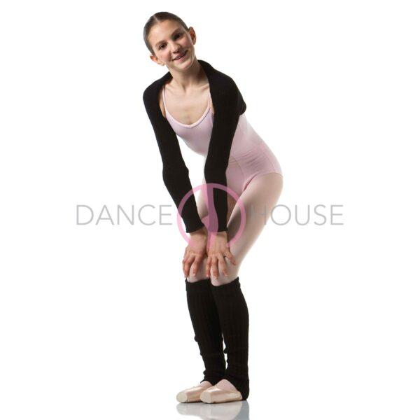 Scaldamuscolo danza 60 cm a costine