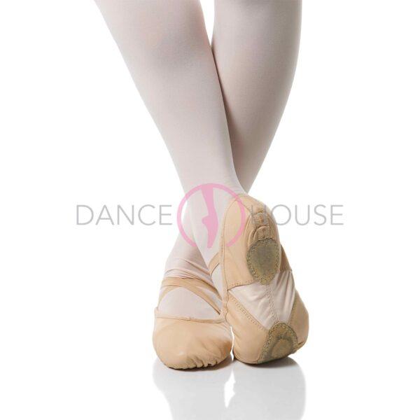 Mezze punte pelle suola smezzata inserto Dance House