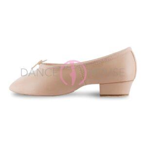 Scarpa per insegnanti danza classica con tacco basso