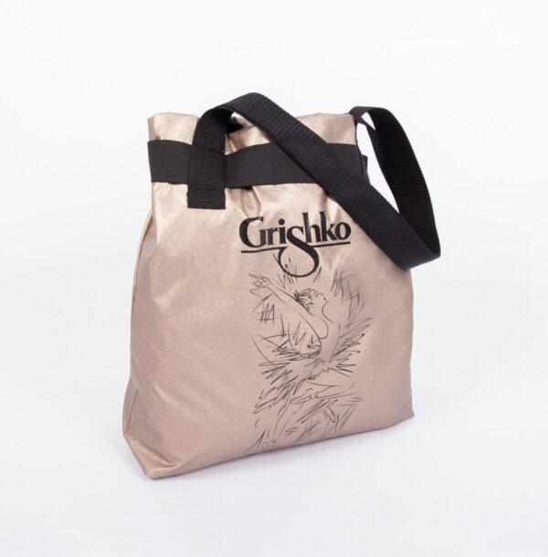 Shopper dorata Giselle Grishko