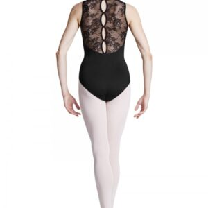 L8845 Body Bloch con pizzo