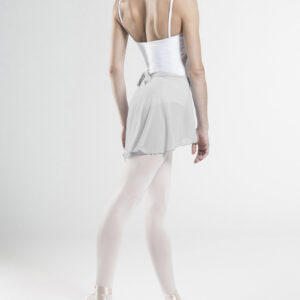 Gonnellino Wear Moi in stretch tulle grigio