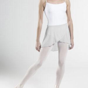 Gonnellino Wear Moi in stretch tulle grigio