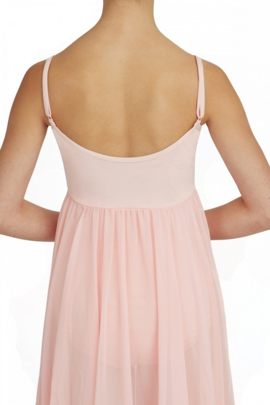 BG001-capezio-camisole-empire-dress-with-georgette-skirt