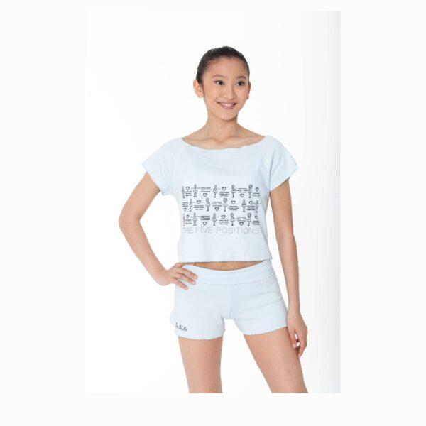 T-shirt El Petit Ballet bianca