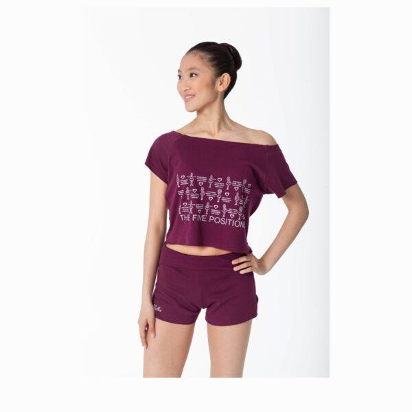 T-shirt El Petit Ballet bordeaux