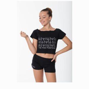 T-shirt El Petit Ballet nero