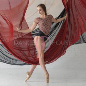 Coralie Ballet rosa cafe