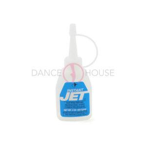 Instant jet glue bunheads