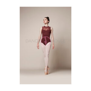 L3072LM-bordeaux-leotard Mirella