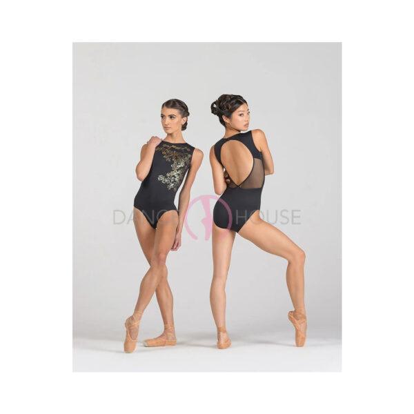 Thea ballet rosa nero